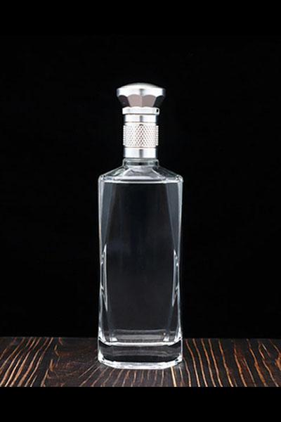 新款晶白料酒瓶-006
