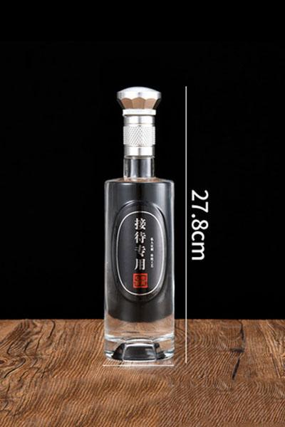 新款晶白料酒瓶-041